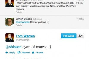 Cyan Nokia Lumia 920 on the way?
