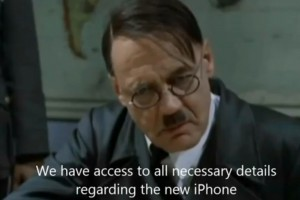 Weekend LOL: Hitler finds out about iPhone 5 (Wants the Lumia 920)