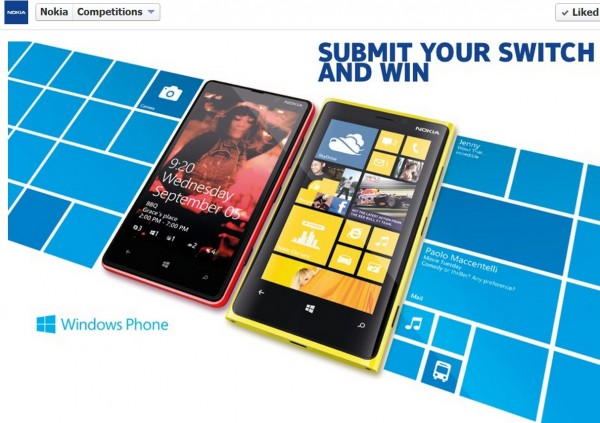 Contest- Win a Nokia Lumia&nbsp;920