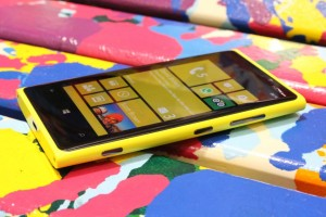 Nokia Connects &#8211; WP8 launch event on October 29, London, Nokia Lumia 920s present.