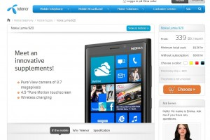 Nokia Lumia 920 on contract at Telenor, Sweden.