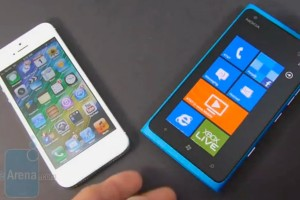 Video: Nokia Lumia 900 vs iPhone 5
