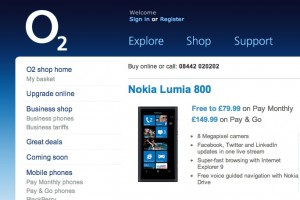 Price Buster: Nokia Lumia 710 for £99 (+15 top up), Lumia 610 for £99 and Lumia 800 for £149.99