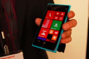 Video: Cyan Nokia Lumia 920 hands on.