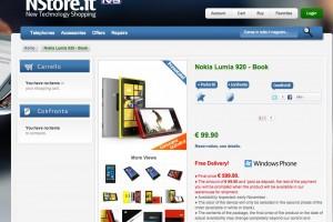 Nokia Lumia 920 pre-order in Italy, 99EUR deposit