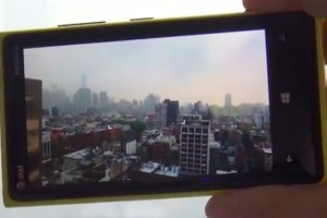 Video: Optical Image Stabilisation demo on Nokia Lumia 920 (at&t)