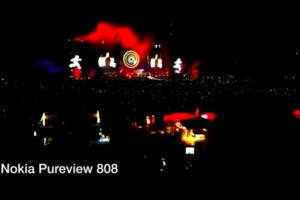 Video: Nokia 808 PureView vs the Samsung Galaxy S3 at Coldplay gig, Munich