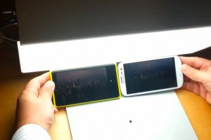 Video: Nokia Lumia 920 Sunlight Readability test (vs SGSIII)