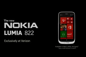 PressRelease: Verizon officially announce Nokia Lumia 822