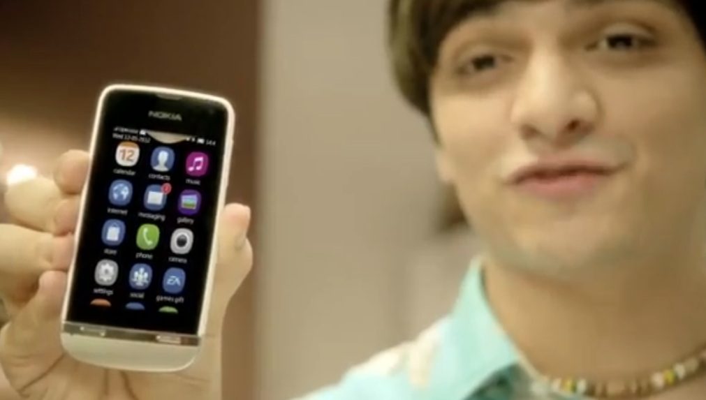 here s a diwali asha tv promo featuring the nokia 305 309 and