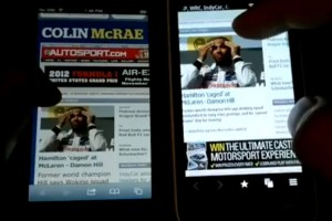 Video: iPhone 5 vs. Nokia 808 PureView browser test