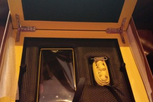 Limited Edition Nokia Lumia 920 packaging for Dubai blogger