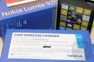 Nokia Lumia 920/820 Phones4U buyers, claim your Free Wireless Charger