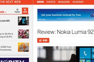 TheNextWeb's Nokia Lumia 920 Review – a joy to use, a smartphone that stands out on merit!