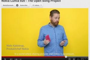 Nokia Denmark show of Magenta Lumia 920