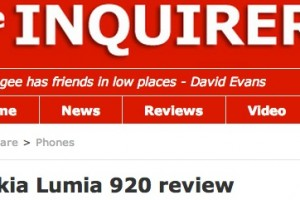 The Enquirer&#8217;s Nokia Lumia 920 Review &#8211; 9/10