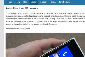 AAWP: In depth review of the Nokia Lumia 920
