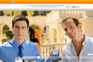 Work For Will – Nokia Lumia 920 advert for AT&T – Will Arnett Competition