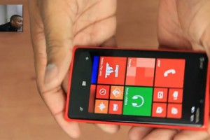 Video: Red Nokia Lumia 920 unboxing