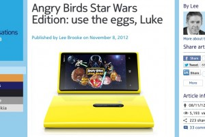 Angry Birds Star Wars and Space coming to Lumia 710, 800 & 900