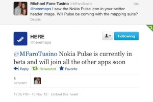 Nokia Pulse finally coming out of beta?