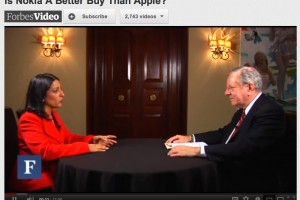 Forbes Video: Is Nokia A Better Buy Than Apple?