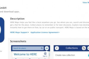 Nokia releases HERE Maps for iOS