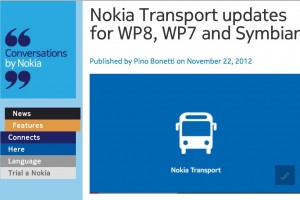 NokConv: Nokia Transport updates for WP8, WP7 and Symbian