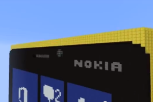 Video: Lumia 920 Painstakingly Made in Minecraft