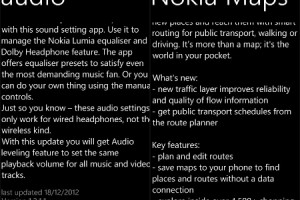 More Nokia apps get updates for WP8