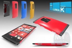 "My Dream Nokia #76: Nokia Lumia K WP8 Concept with 30MP 1/1.2"" PureView Camera, 5″ screen"