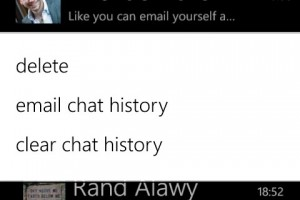Whatsapp For Windows Phone Updated, Now Supports Emailing Chat History