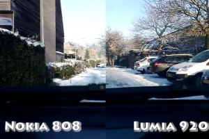 Video: Nokia 808 vs Lumia 920 OIS test