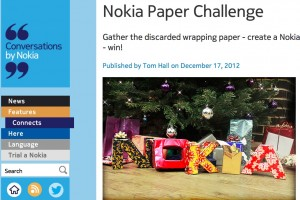 3 Nokia Lumia 820s to be won in Nokia Paper Challenge #NokiaPaperChallenge