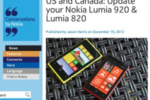 Nokia Lumia 920 and 820 update available in US/Canada. Rest of the world, wait February 2013? :/
