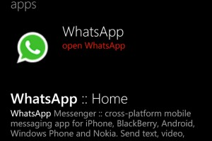 Whatsapp Now Available for WP8!