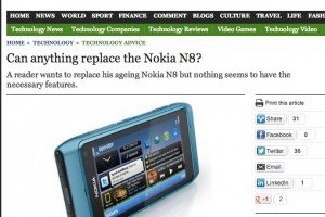 The Telegraph Asks: Can anything replace the Nokia N8