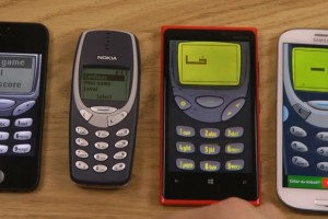 Video: Battle of the Snakes (iPhone 5 vs 3310 vs  Lumia 920 vs SGS III)
