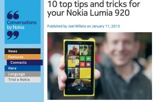 Weekend Read: NokConv's 10 top tricks for your Nokia Lumia 920 (and other Lumias)