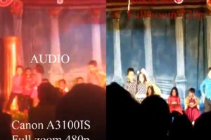 Video: Nokia 808 PureView vs Canon A3100 IS Video recording.