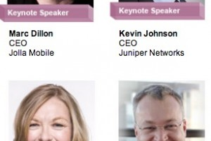 Nokia's Stephen Elop and Jolla's Marc Dillon, MWC Keynote Speakers
