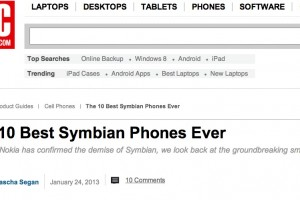 PCMag's top 10 Symbian Phones – What's yours?