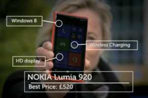 Gadget Show (UK) compares the top 3 High End Smartphones (the Loving Nokia Lumia 920, hating on the iPhone 5)