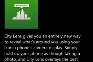 Nokia City Lens for WP8 Updated; Brings SightLine Vision & Freeze View