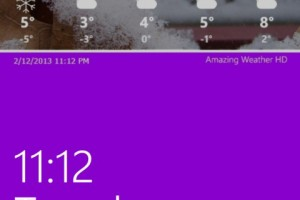 Amazing Weather HD For Windows Phone 8 Updated; Brings LockScreen Notifications and More!