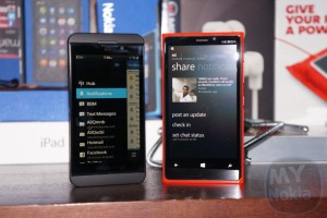Video: BB10's BBHub Vs. WP8's Me Hub Comparison
