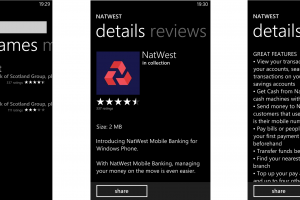 NatWest and RBS Banking apps come to Windows Phone 8