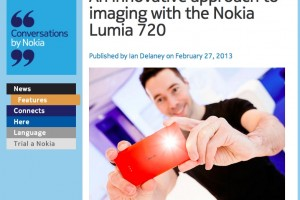 NokConv: An innovative approach to imaging with the Nokia Lumia 720