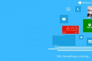 """Something Coming"" From Microsoft..Possible Notification Center? Landscape Homescreen?"