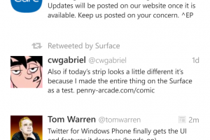Twitter app for WP gets major update